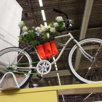 Le vélo perché